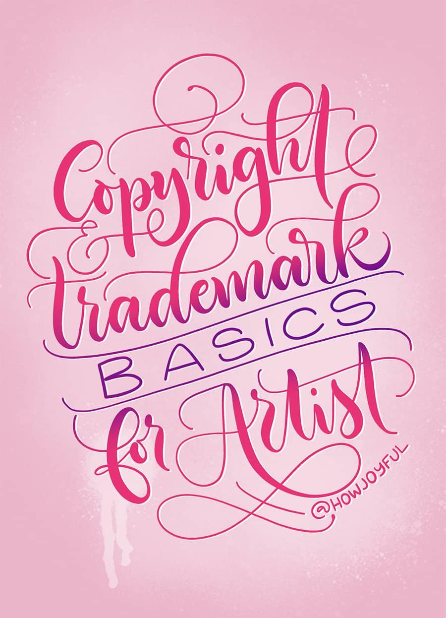 copyright trademark artist