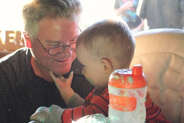 conner and grandpa