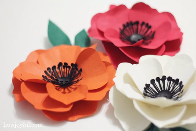 paper poppy tutorial