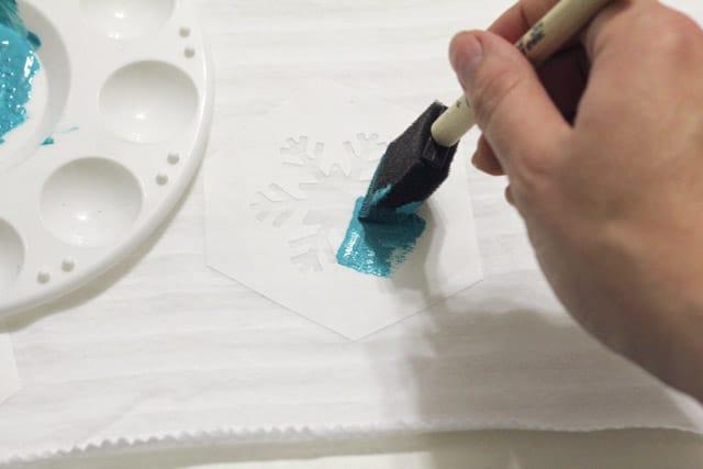 infinity scarf tutorial painting