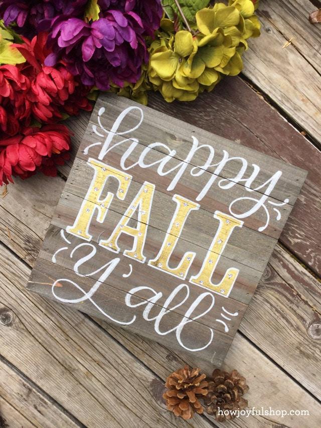 fall saying