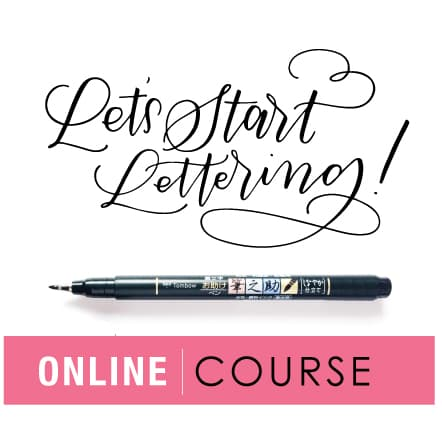 lettering class