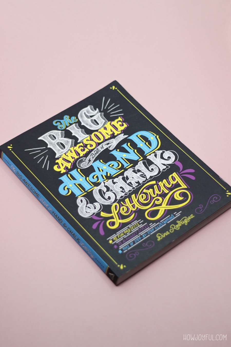 the big awesome book of chalk lettering