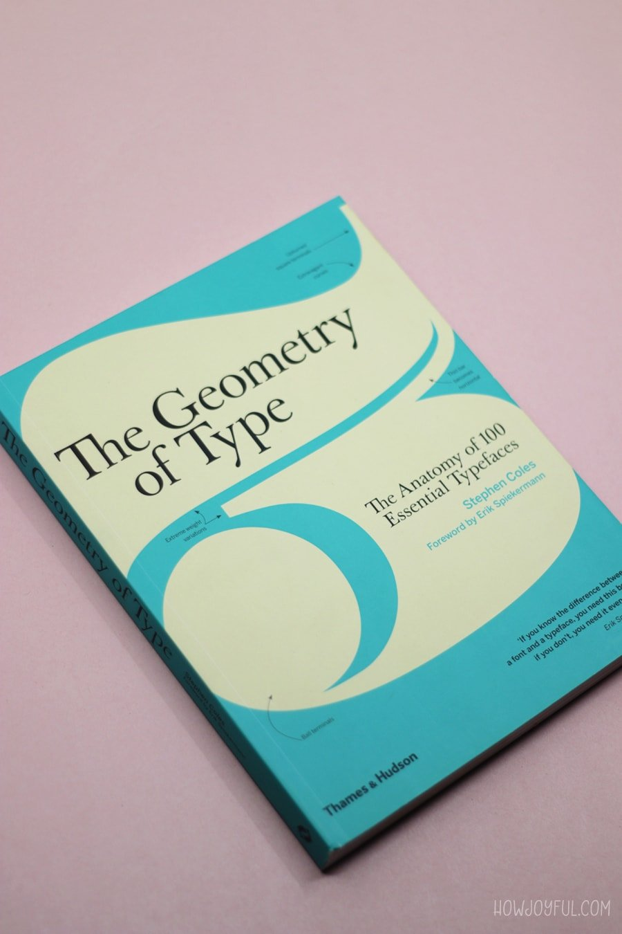 the anatomy of typefaces