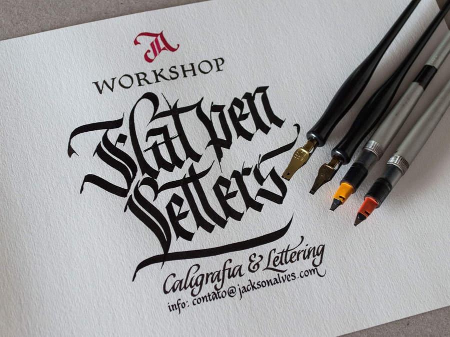 Flat pen example