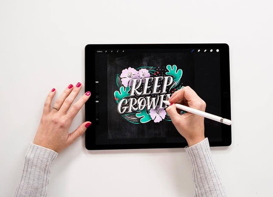 iPad Illustration in Procreate