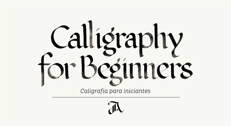 Calligraphy for beginners class
