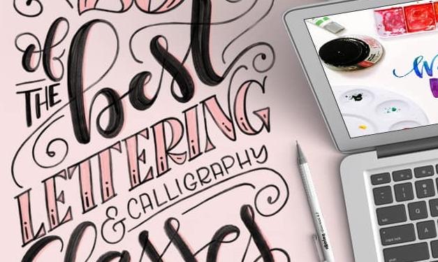 25 best classes for lettering