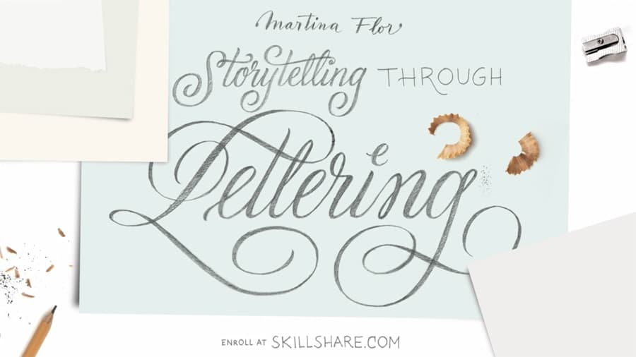 Storytelling with lettering Martina flor