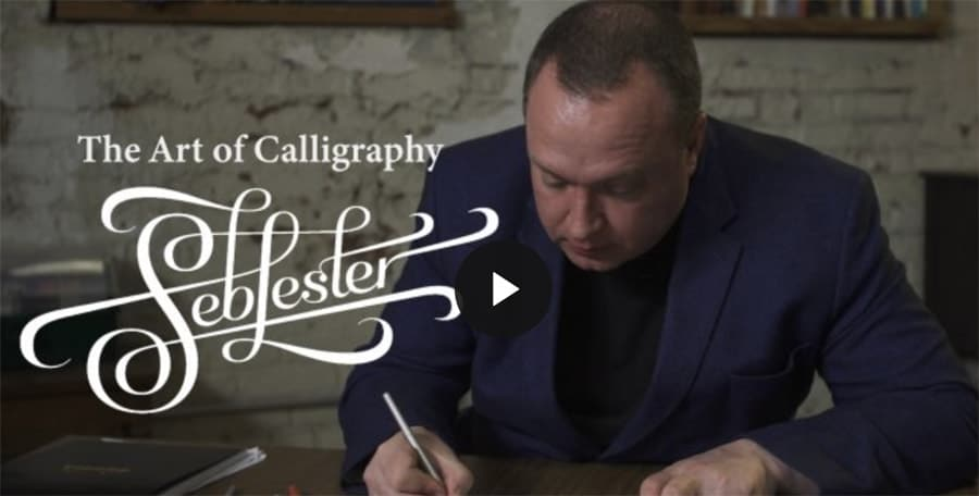 Calligraphy Fundamentals: Letterforms and Flourishing with Seb Lester