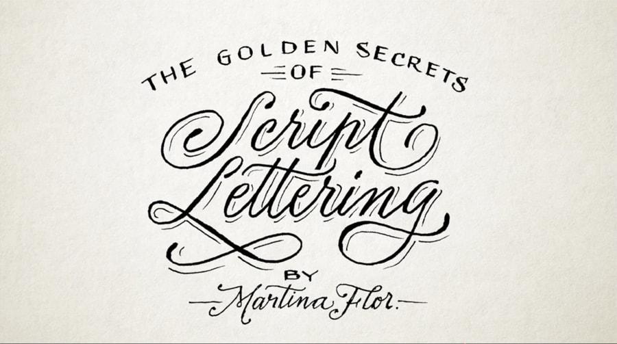 hand lettering class martina flor