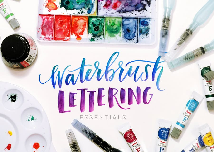 Waterbrush essentials