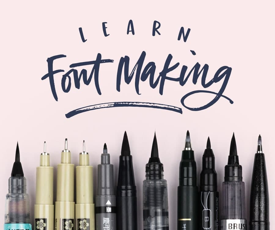 Learn font making with Teela from Every Tuesday