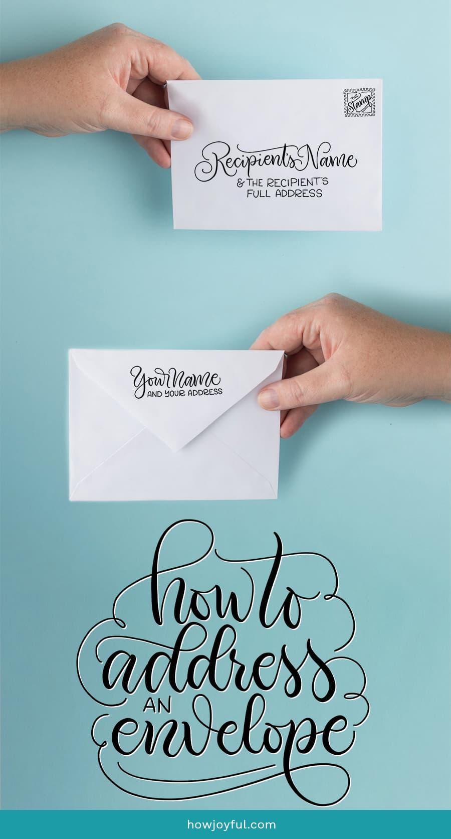 how address envelopes