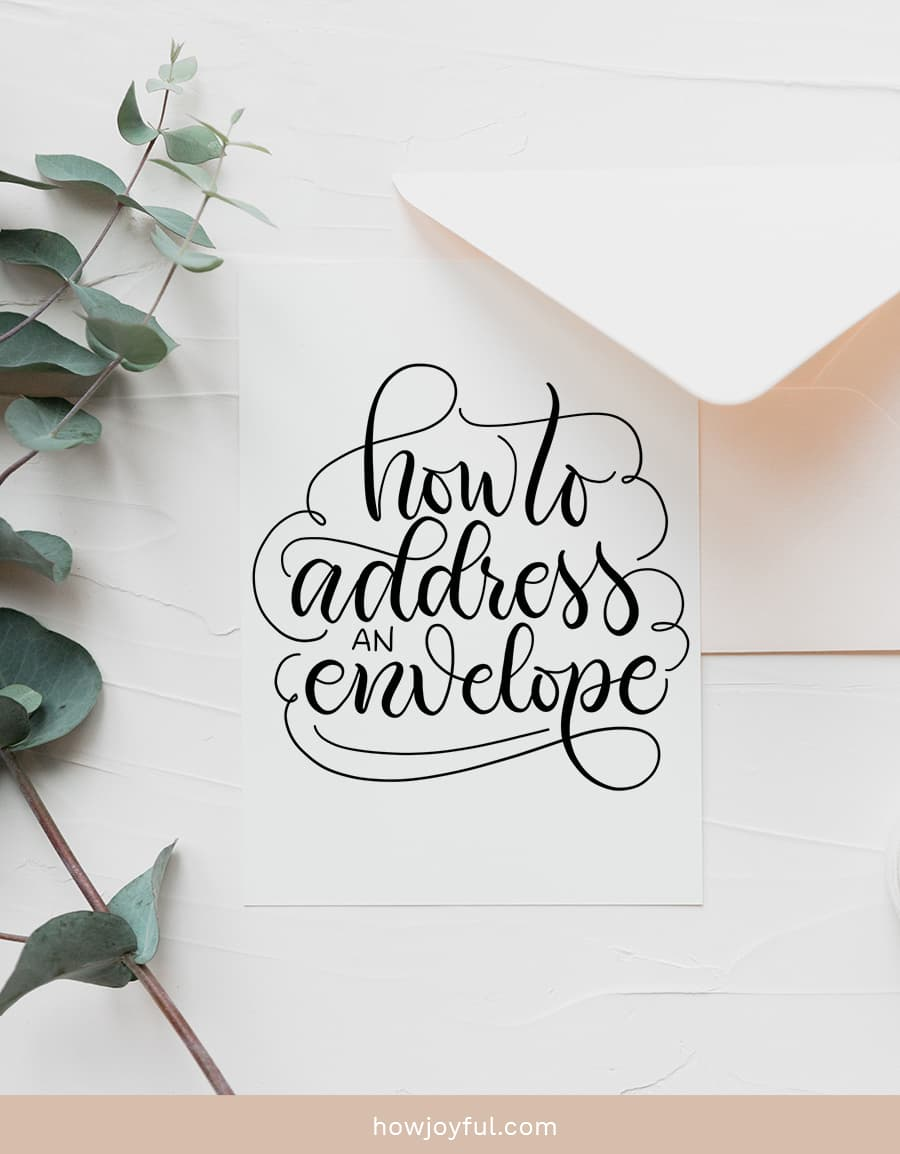 address envelope