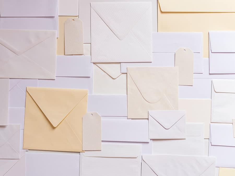 kinds of envelopes