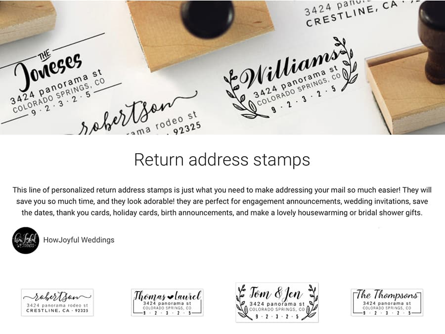 zazzle return stamps