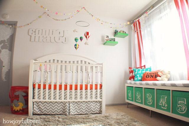 circus crib