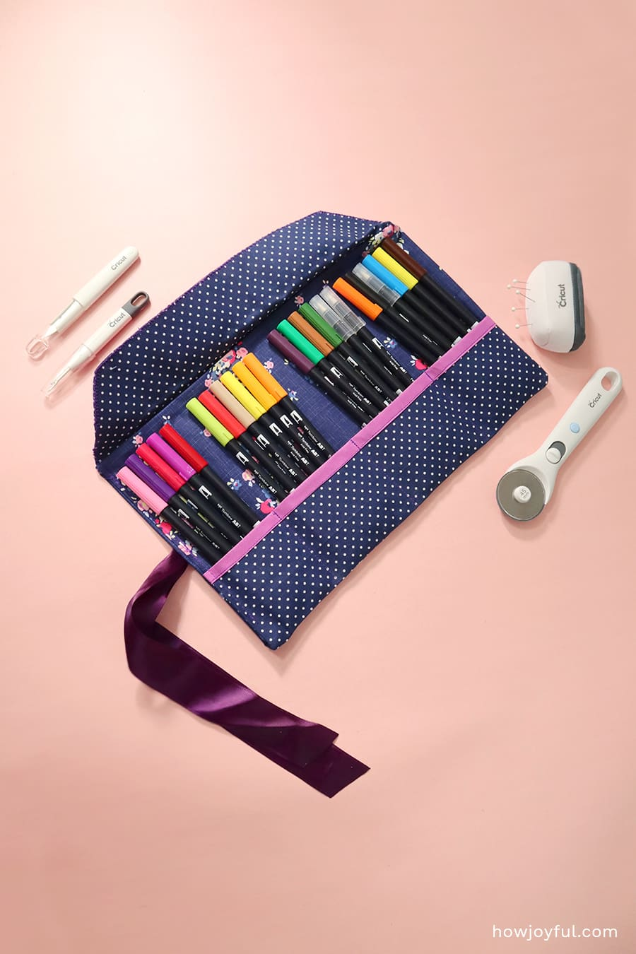 full rolled pencil case