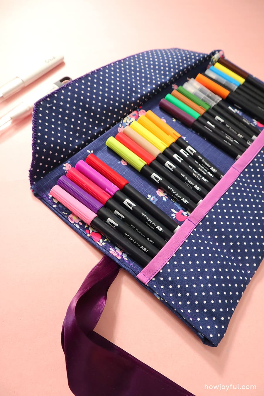 tombow rolled case