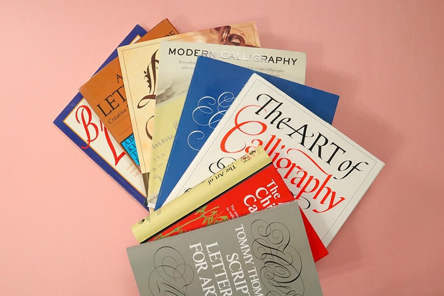 all history of calligraphy books