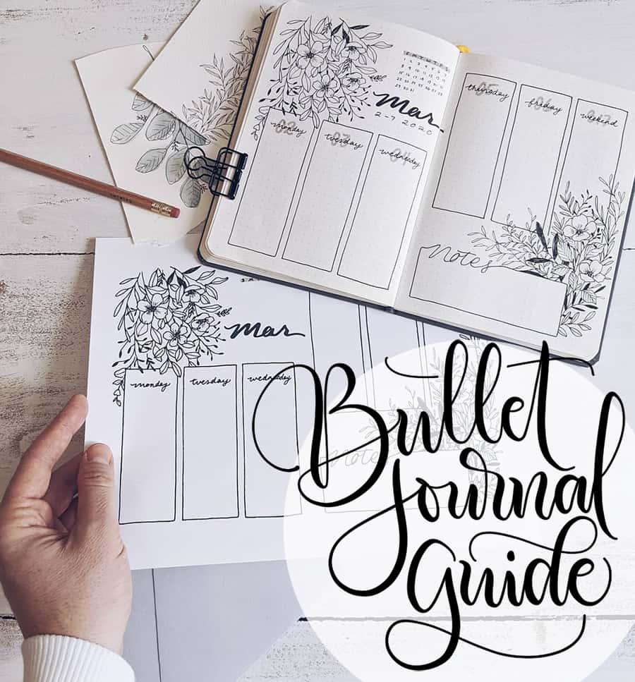 bullet journal guide