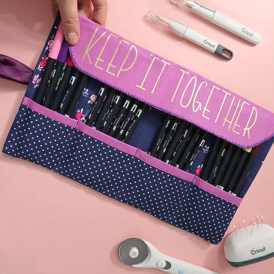 make a pencil case