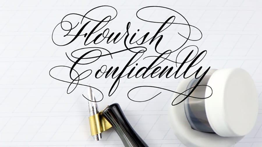 flourish confidently on skillshare