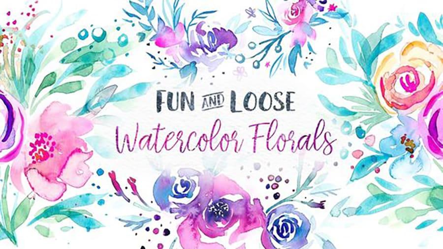fun and loose watercolors