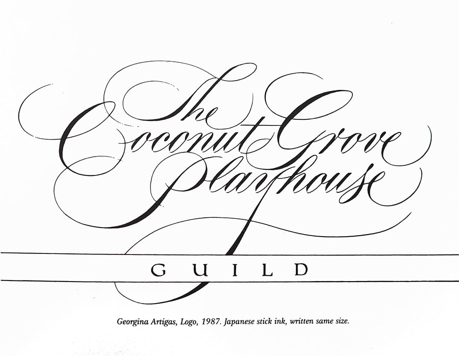 Copperplate example