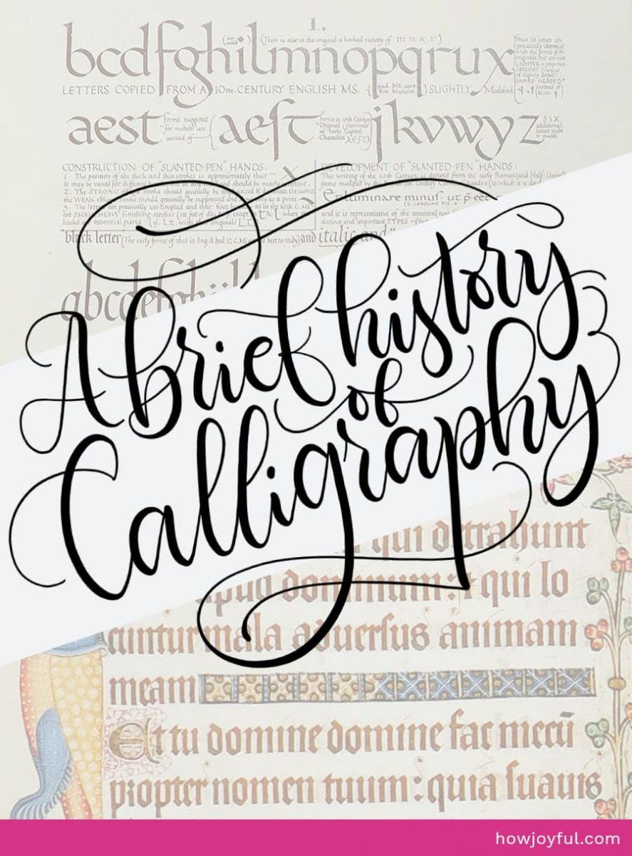 calligraphy through the ages