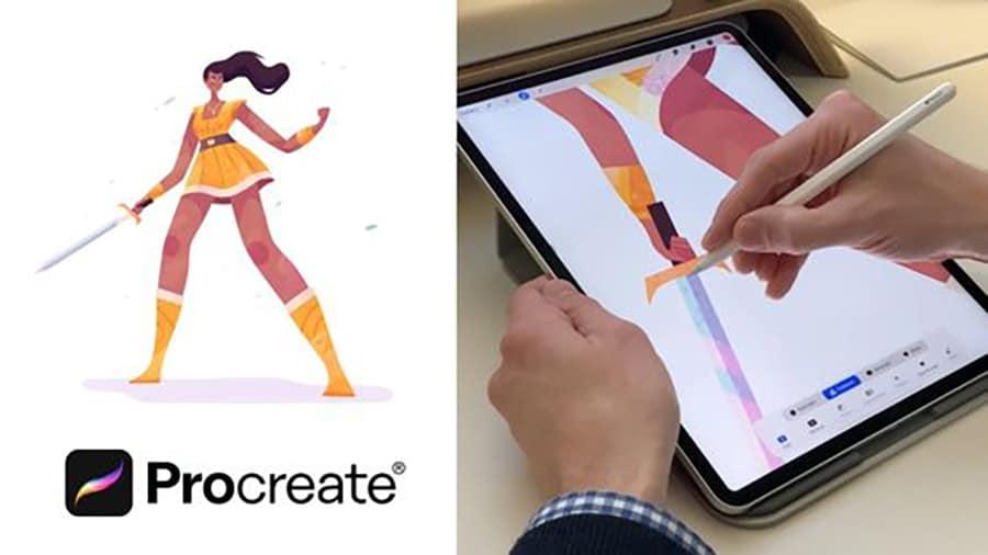 learn illustration for procreate skillshare review