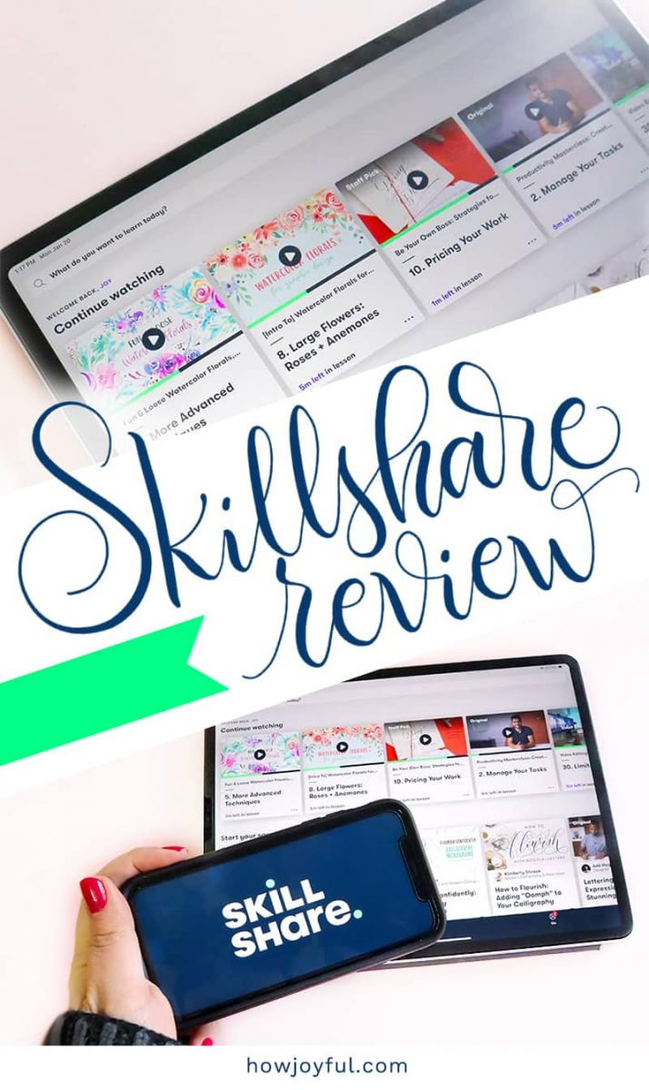 review of skillshare
