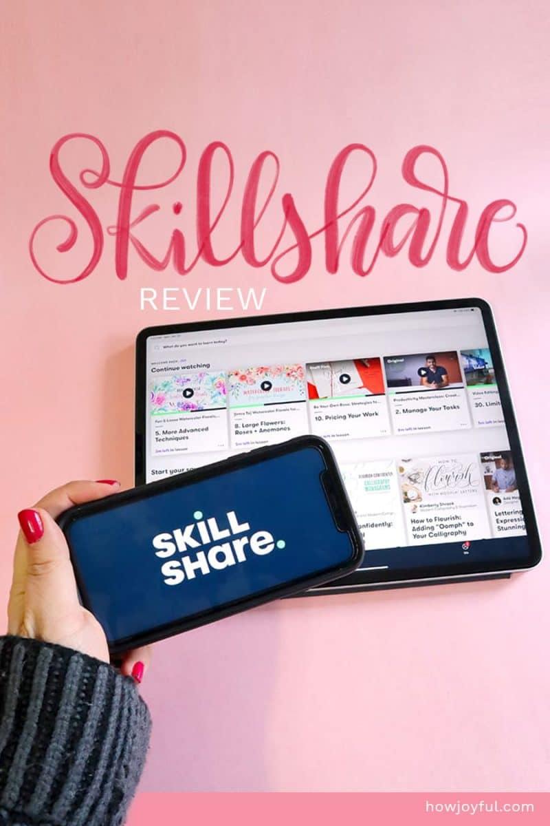 skillshare review on mobile