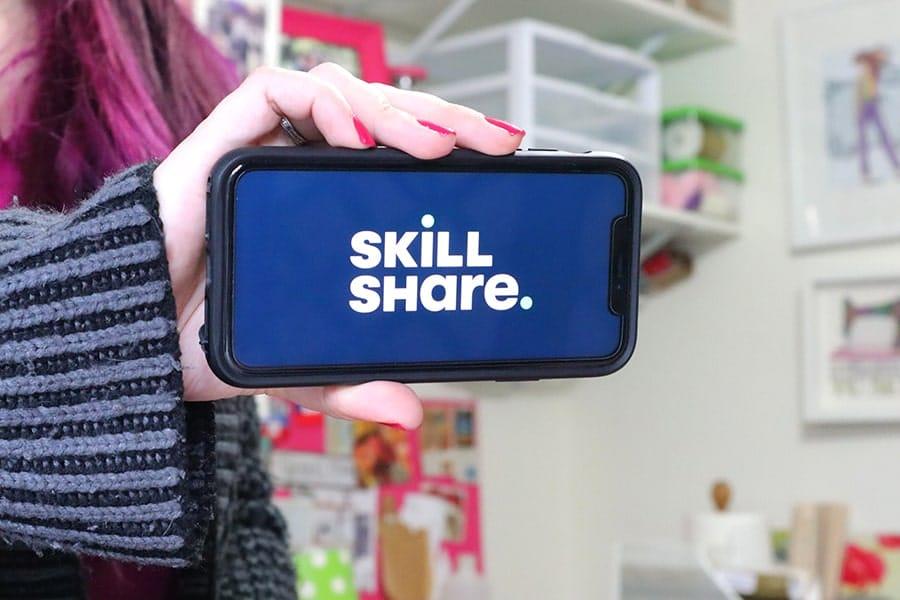skillshare screen