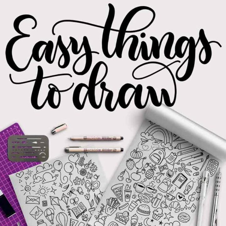 easy things to draw