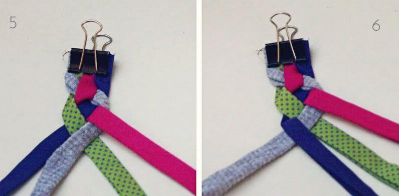 making a 4 way braid