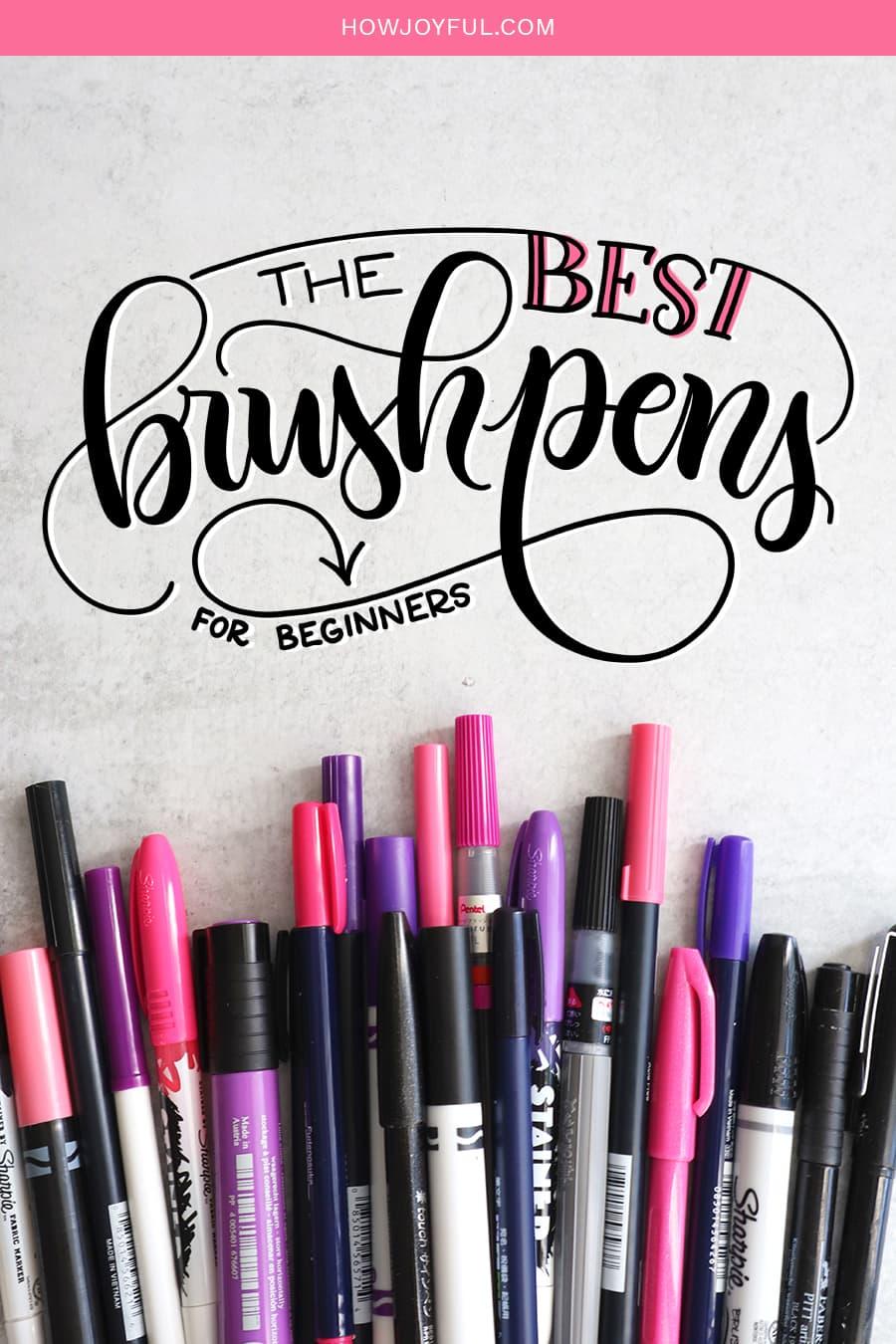 The best brush pens