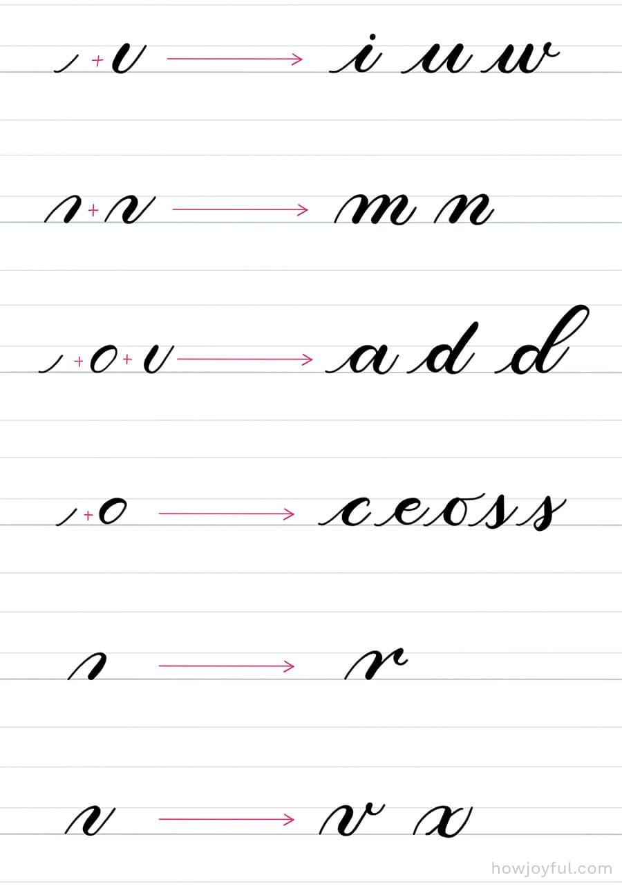 letter construction easy letters