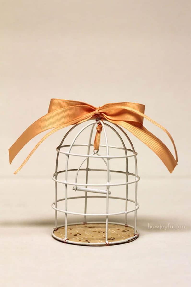 birdcage tutorial DIY
