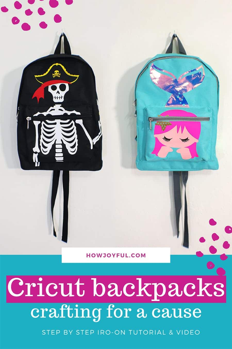 cricut backpacks