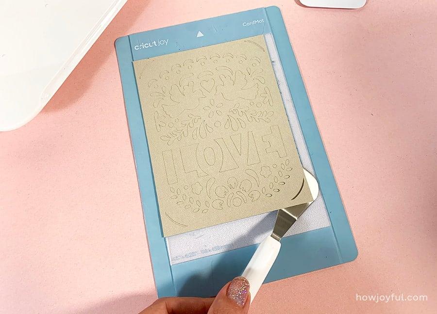 cricut card mat cutting