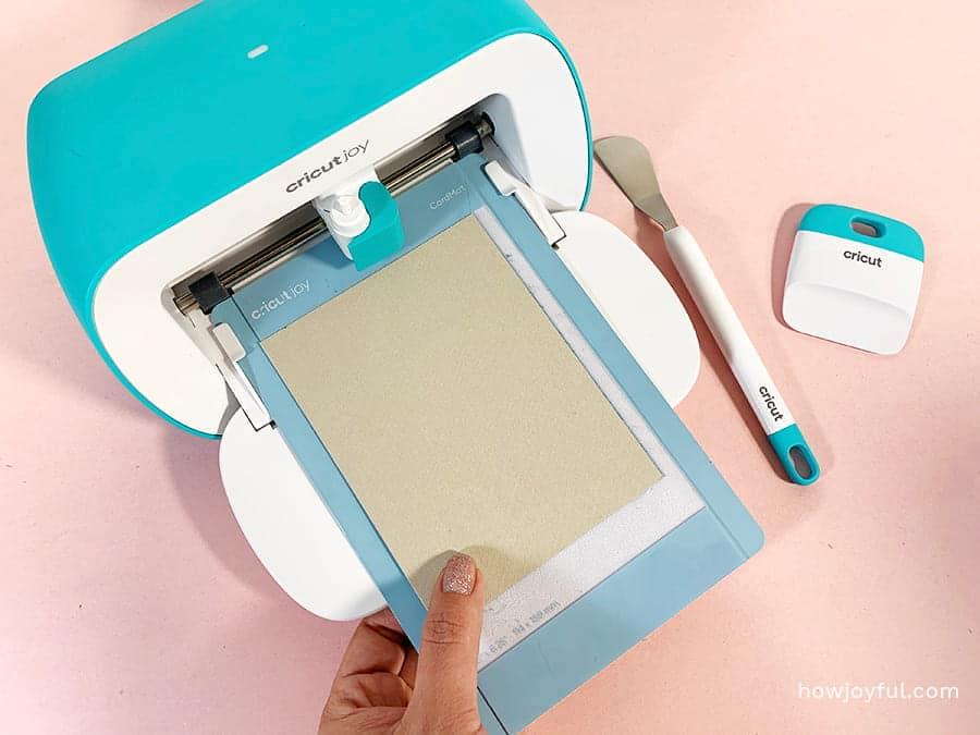 card making loading mat