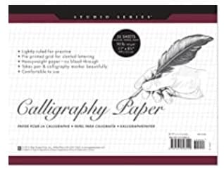 calligraphy grid paper