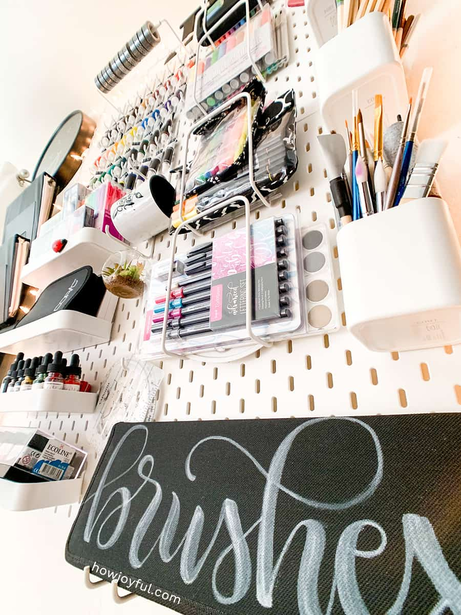 calligraphy pegboards