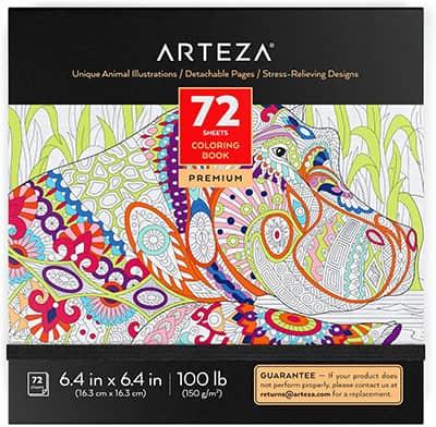 arteza coloring book