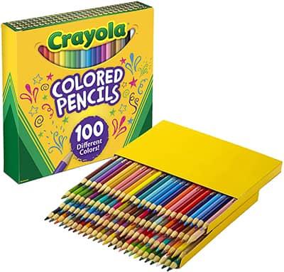 crayola color pencils