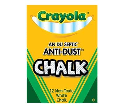 crayola antidust chalk
