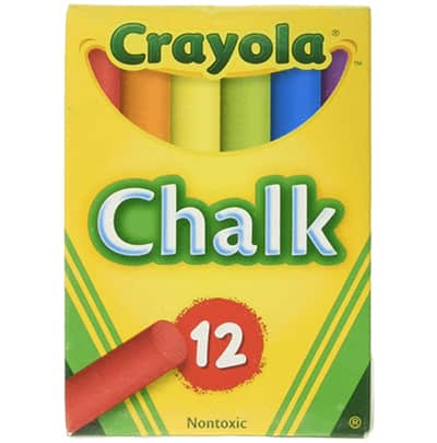 crayola color chalk