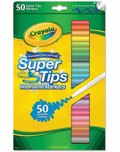 crayola super tip markers